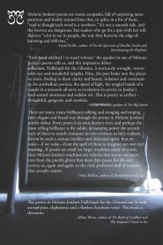 Jordan back cover blurbs copy