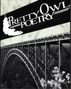 Cover of the inaugural Spring 2014 Issue of Pretty Owl Poetry.