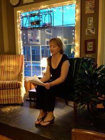 Carol reading