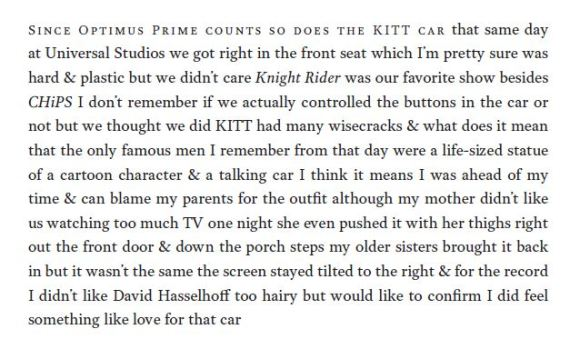 Since Optimus Prime counts so does the KITT car